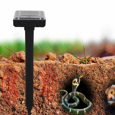 2pcs Ultrasonic Solar Power Mouse/Snake Repeller-Animal Repeller-Golonzo