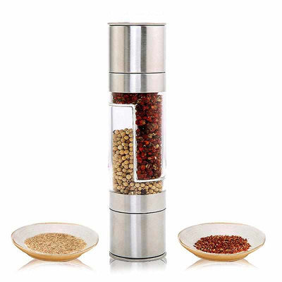 2 in 1 Stainless Steel Salt and Pepper Grinder-Salt and Pepper Shaker-Golonzo