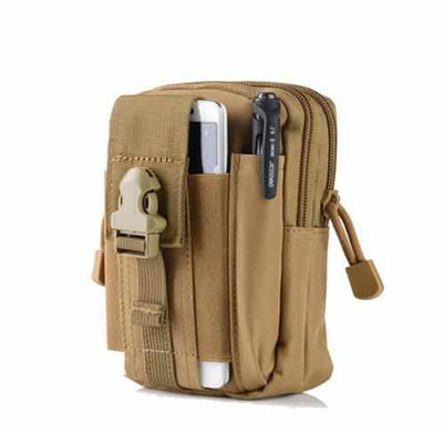 Outdoor Camping Bag - Tactical Waist Pack Bag-Travel Pouches-Golonzo