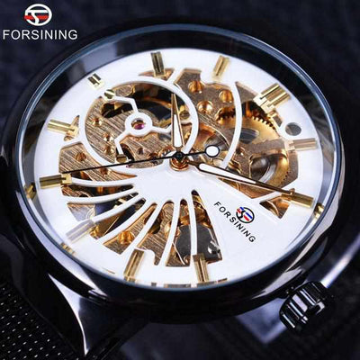 Forsining + Fashion Skeleton Model-Watch-Golonzo