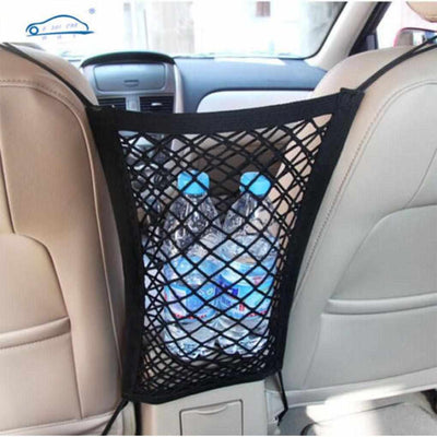 Strong Elastic Car Mesh/Net Bag-Seat Cover-Golonzo