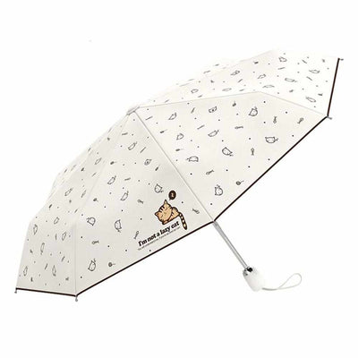 Lazy Cat Automatic Mini Umbrella-parasol and rain umbrella-Golonzo
