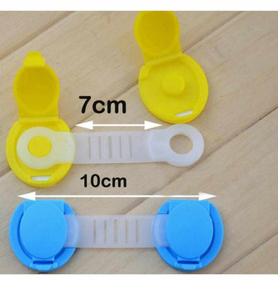 10Pcs Child Safety Cabinet Locks & Straps-Baby Locks-Golonzo