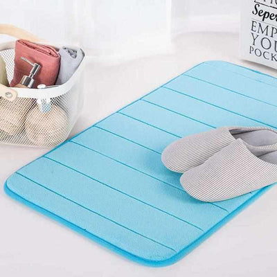 Water Absorption Bathroom Mat-Bath Mat and Rug-Golonzo