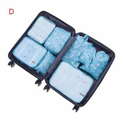 8Pcs Travel Bags Sets Waterproof Organizer-Packing Organizers-Golonzo