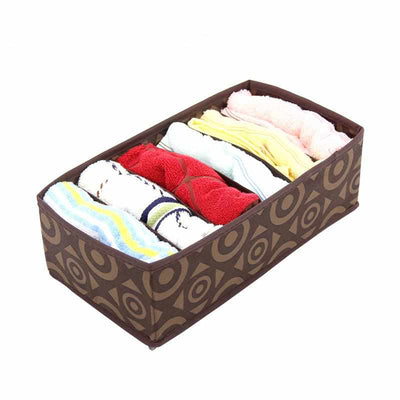 3PC/Set Circle Pattern Storage Boxes For Underwear Towels Socks Ties-Desktop Storage Box-Golonzo
