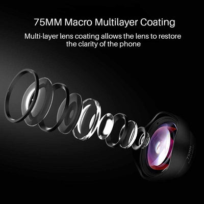 Professional 75MM Marco Camera Phone Lens-Mobile Phone Camera Accessories-Golonzo