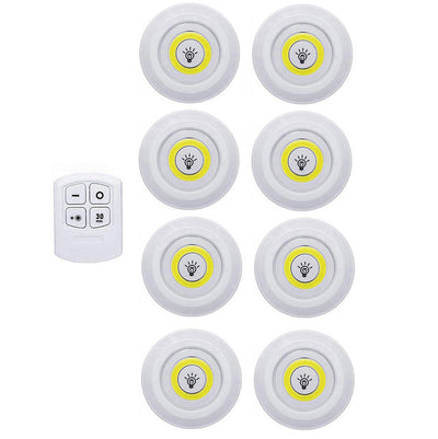 LED Under Cabinet Light with Remote Control Stick On Touch Tap Lamp-LED light Bulbs-Golonzo