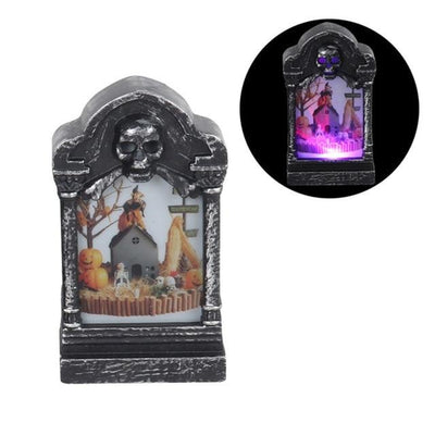 Halloween LED Light Glowing Decoration Tombstone Pumpkin Lights Ornaments Home-LED light Bulbs-Golonzo