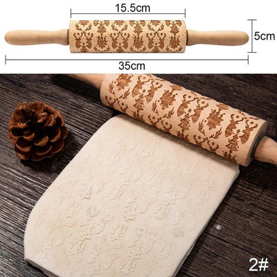 Decorative Rolling Pins-Rolling Pins-Golonzo