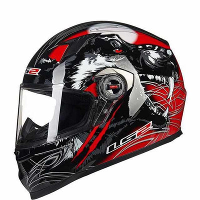 LS2 FF358 High quality Full Face Motorcycle Helmet-Motorcycle Helmets-Golonzo