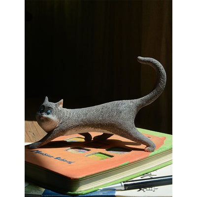 Creative Lucky Animal Cat Ornaments Living Room Office Decorations Home Decoration-statue-Golonzo