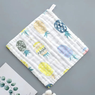 Baby Pure Cotton Printable Hanging Small Towel-Baby guards-Golonzo