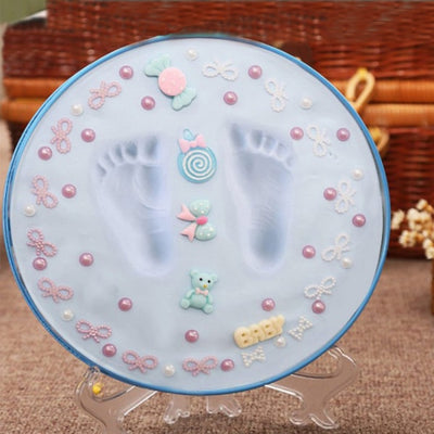 Baby Hand Foot Print Clay Set-Baby & Toddler-Golonzo