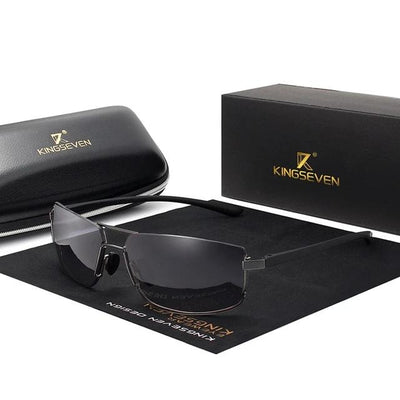 Driving Sunglasses Square Frame-Sunglasses-Golonzo