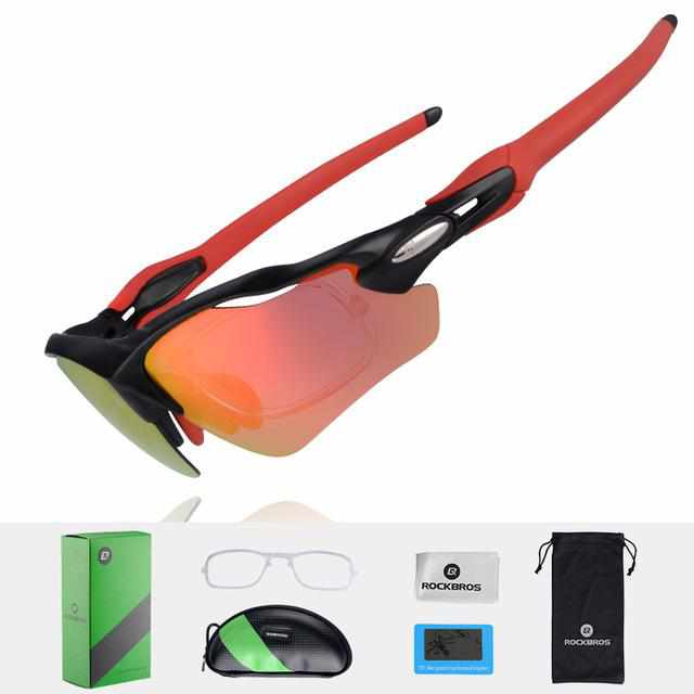 339aabe1ce Polarized Cycling Glasses UV400 - Sports Eyewear Ultralight Riding Bike  Bicycle Sunglasses - Golonzo