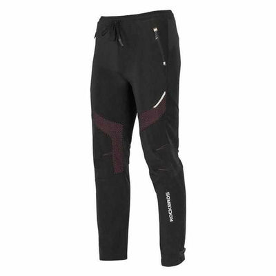 Winter/Autumn Sports Pants - Men Thermal Fleece Trousers Keep Warm for Cycling /Running-Pants-Golonzo