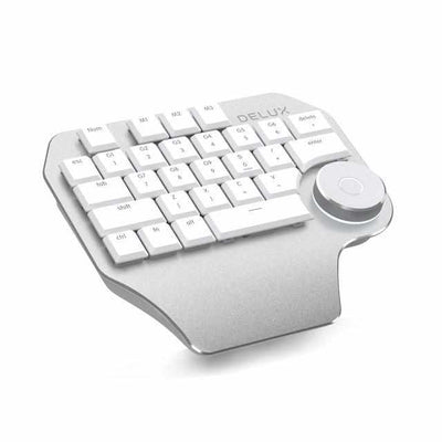 T11 Designer Keyboard with Smart Dial 3 Group Customizable Keys-Keyboards-Golonzo