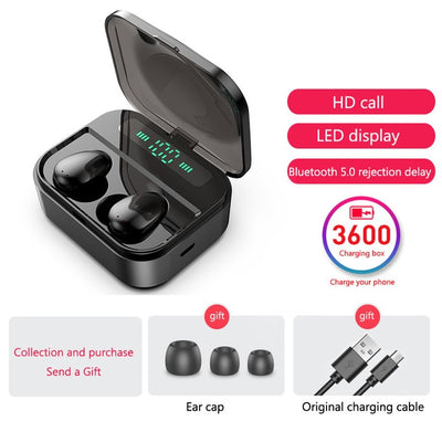 Wireless Bluetooth Earbuds-Headphones and Headset-Golonzo