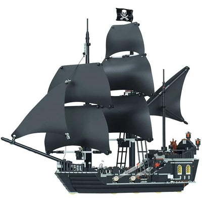 Pirates of the Caribbean Building Blocks The Black Pearl Ship-Toys-Golonzo