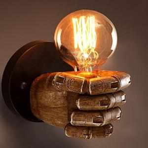 CLASSICAL RESIN FIST WALL LAMPS-Night Lights & Ambient Lighting-Golonzo