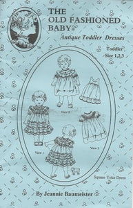 Antique Toddler Dresses, Size 1 - 3 Years
