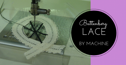 Sewing Lesson #47 Battenberg Lace By Machine