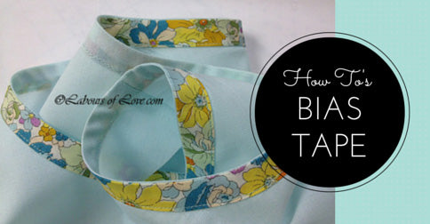 Sewing Lesson #3 How To's Bias Tape