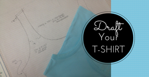 Sewing Lesson #25 Copy/ Draft Your T-Shirt Class