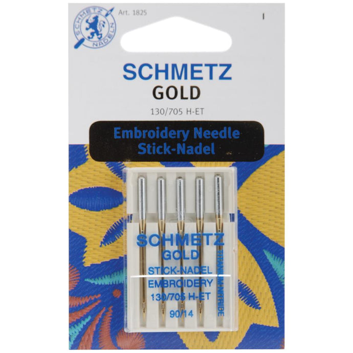 Schmetz Gold Embroidery Needles - 75/11