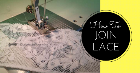 Sewing Lesson #33 Joining Lace
