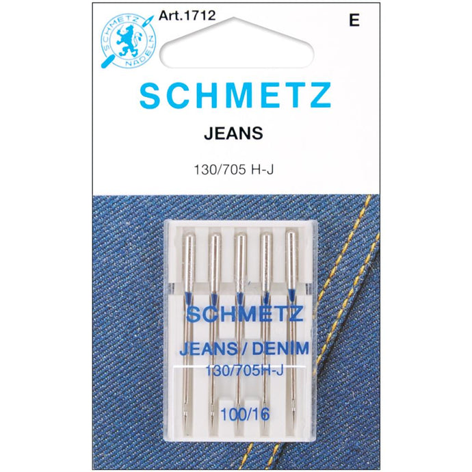 Schmetz Jeans and Denim Needles - 100/16