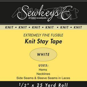 Fusible Knit Stay Tape - 1/2