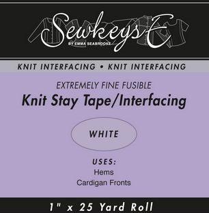 Fusible Knit Stay Tape - 1