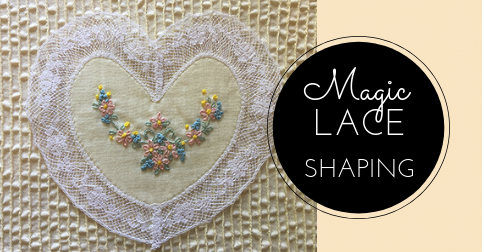 Sewing Lesson #44 Lace Shaping