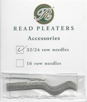 Read 24 or 32 Row Replacement Pleater Needles, 12 pack