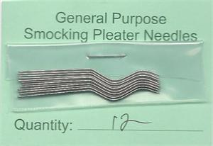 Salley Stanley Replacement Pleater Needles, 12 pack