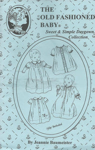 Sweet and Simple Daygowns, Size Infant 7 - 16 Lbs.
