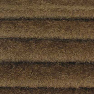 "Ultra Sparse Mohair / Curly Matted Finish / 1/2"" Long / Antique Brown"