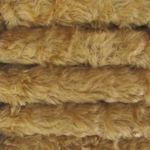 "Mohair, Medium Density Mohair / Curly Finish / 3/4"" Long / Antique Honey"