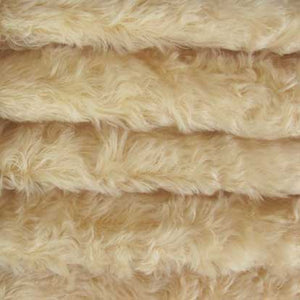"Mohair, Medium Density Mohair / Curly Finish / 3/4"" Long / Buttercup"