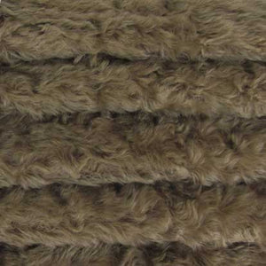 "Mohair, Medium Density Mohair / Curly Finish / 3/4"" Long / Mink"