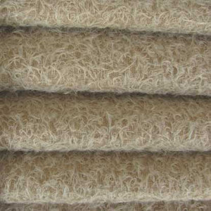 "Ultra Sparse Mohair / Curly Matted Finish / 1/2"" Long / Sand"