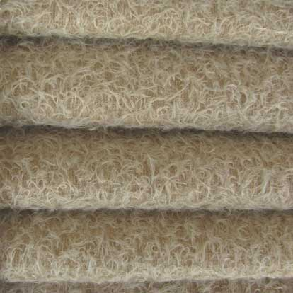 Ultra Sparse Mohair / Curly Matted Finish / 1/2