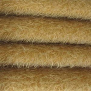 "Ultra Sparse Mohair / Curly Matted Finish / 1/2"" Long / Sunshine"