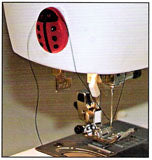 Lady Bug Thread Cutter