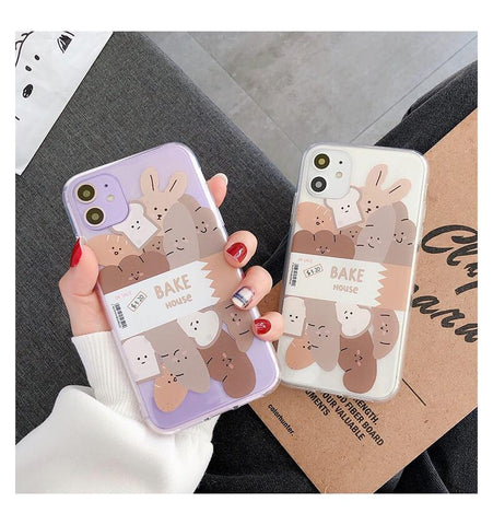 White Tanuki Bake House Phone Case
