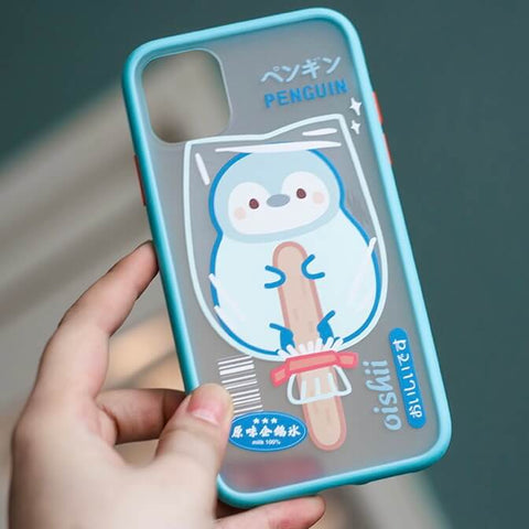 White Tanuki Penguin Pop Phone Case