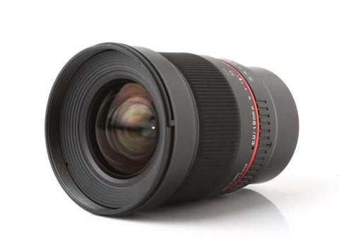Samyang 16mm f/2.0 ED AS UMC CS for Fuji X