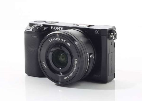 Sony Alpha A6000 Mirrorless Camera Prima Photo & Video